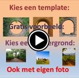 uitleg video maak je eigen doorkijkje tuinposter